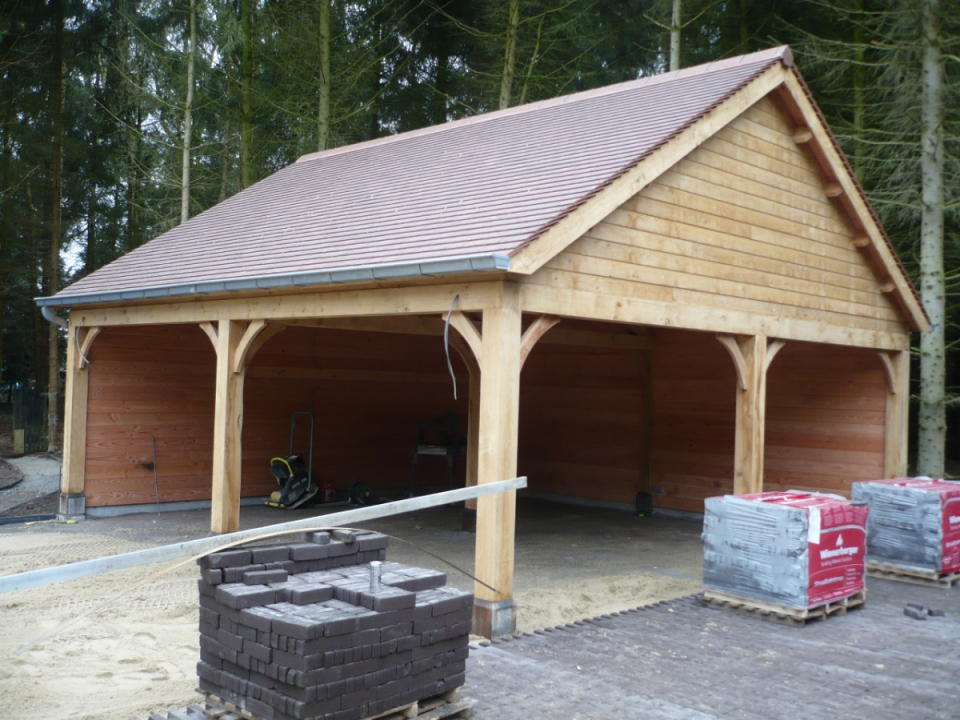 Tuinhout De Meyer – Categories – Carport – overkapping